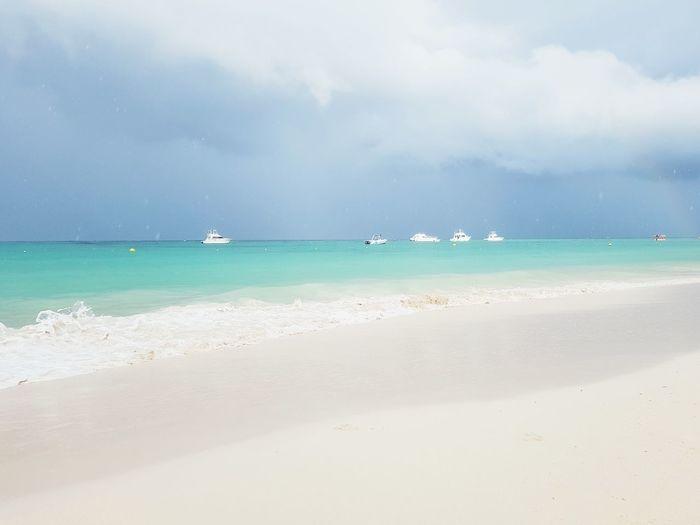 Water Sea Beach Swimming Horizon Relaxation Blue Sand Nautical Vessel Tree