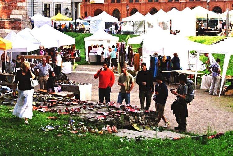 Bowl's Exhibitions 陶器 器 Market Outdoors Latvia Riga ラトビア リガ