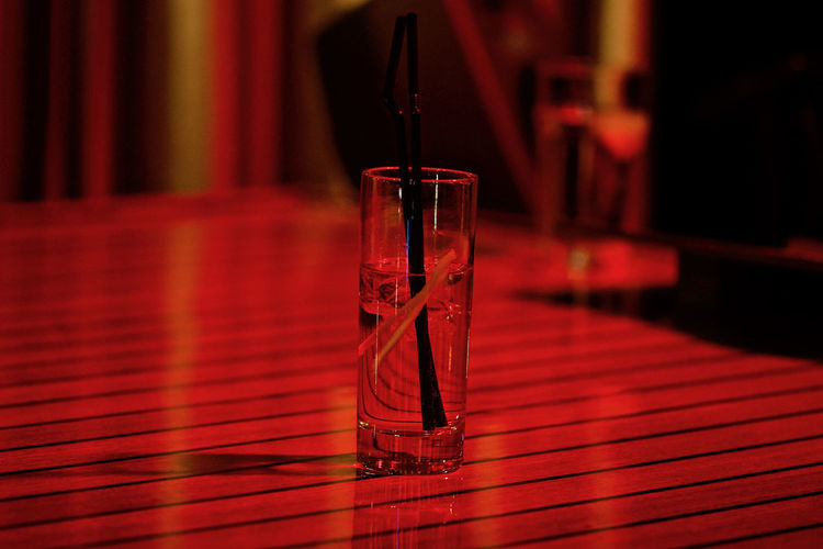 Nightlife Food And Drink Night Lights PianoBar Alcoholic Drink At A Bar Drink Drinking Straw No People