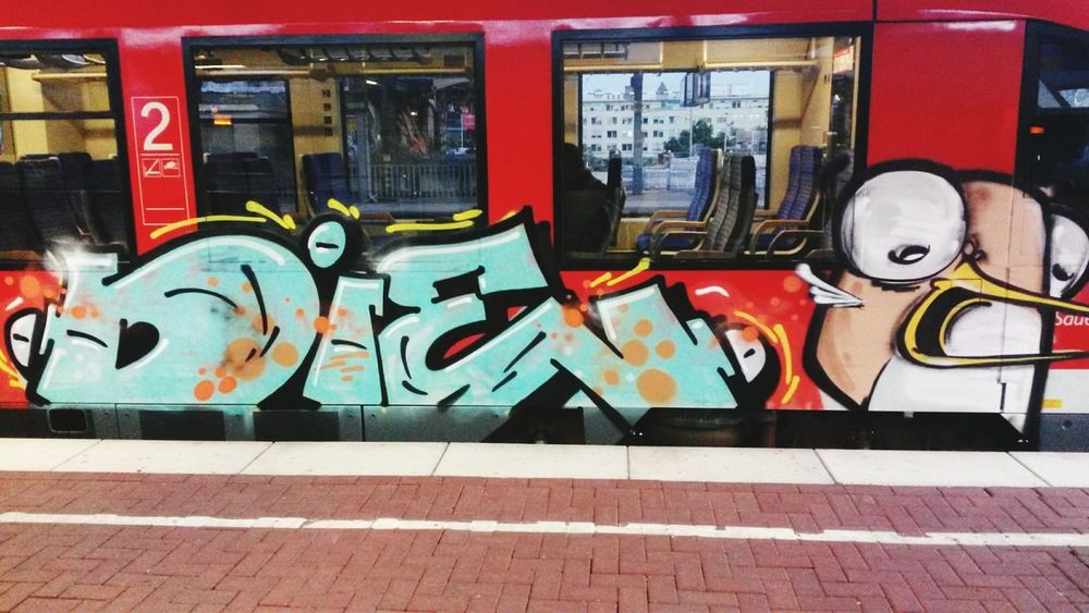 DIE Graffity Dortmund Ruhrgebiet Train Graffiti  Graffiti