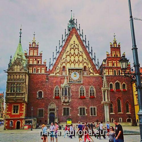 Ratusz we Wrocławiu Wroclaw Wrocław Poland Polska Lower Silesia Silesia Ratusz Townhall Old Town Gotyk
