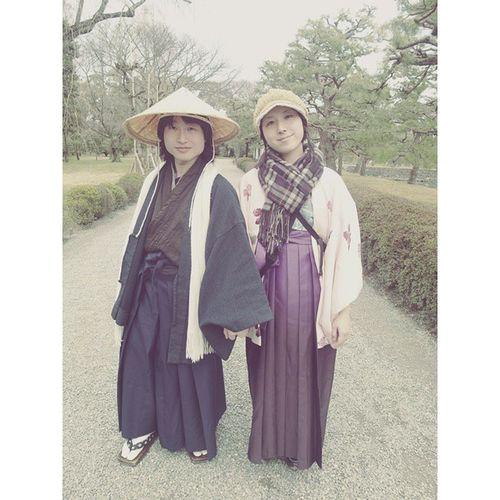二条城 洋服 京都 日本 特色 着物 Kyoto Japenesestyle Japanese  Clothes Transitionalstyle Tranditional Hat 寫真