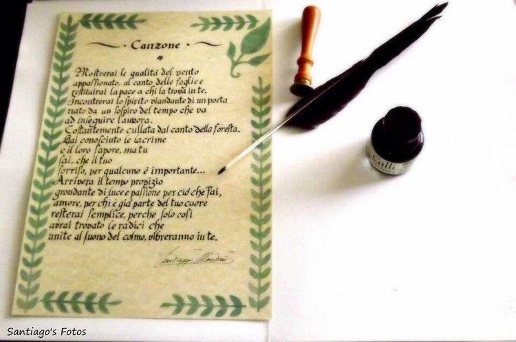 Handwriting  Handwritten Calligraphy Calligraphie Calligrafia Poesia Poetry Poet Santiagomontrés ??✒️?