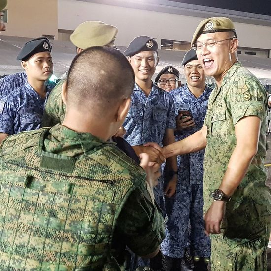 My Son Post Graduation Bmt Basic Military Training Sembawang Camp Airforce Singapore Streetphotography Sg_streetphotography