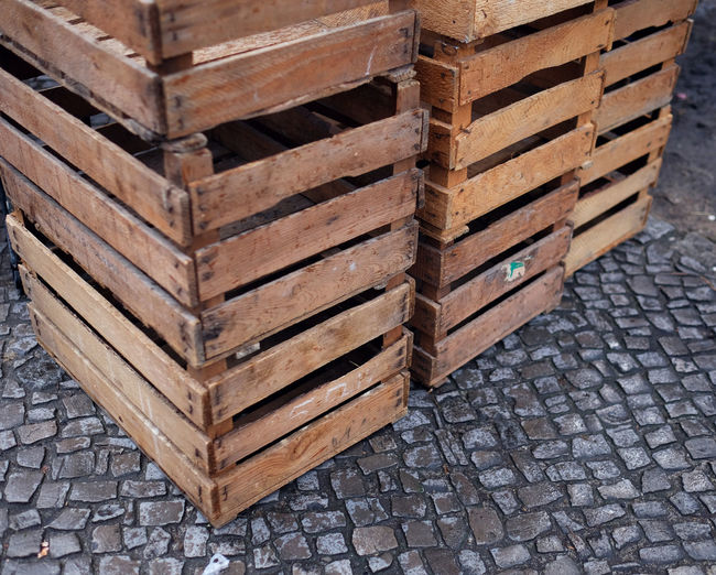 Boxes Close-up Day Daylight No People Outdoors Stapled Wood - Material