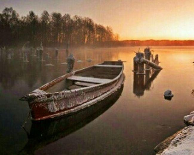 EyeEm Best Shots Eye4photography  Boat Landscape_Collection Landscape Landscape_photography лодка пейзаж Панорама  Снежок