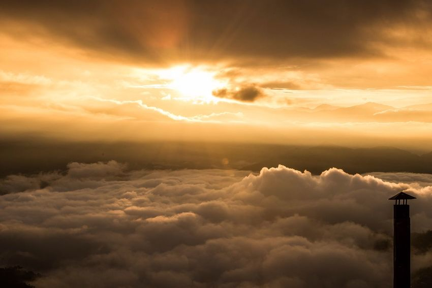 Cloud Nature Day Cloudy Sky Sun Cloud - Sky Beauty In Nature Sunset Atmospheric Mood Nature