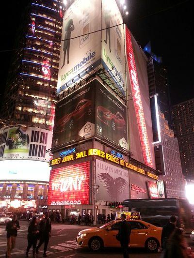 Beautiful Night Lights in Manhattan ...I love New York and 42 Street