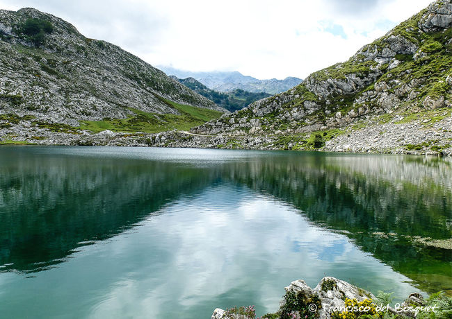 Asturias Asturies Celtic Covadonga España Franciscodelbosquet Fuji X20 Hiking Holiday Lake Landscape SPAIN Tranquil Scene