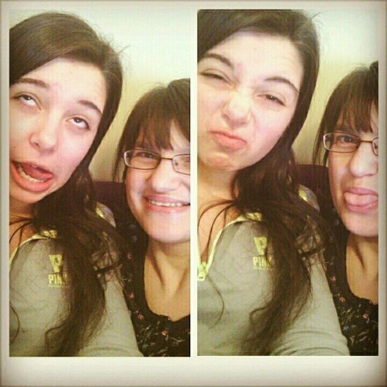 Silly faces with mama Loveher .Hotmess  Silly Instalike