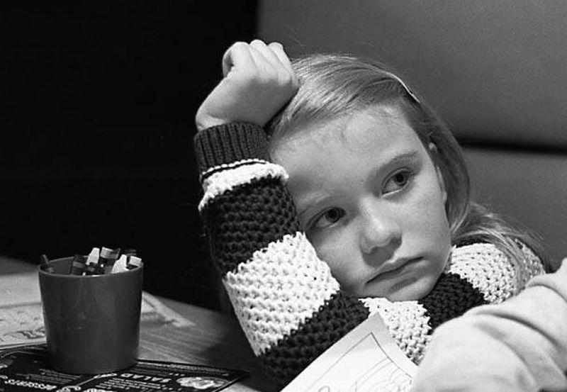 Childhood One Girl Only Kodak T-max 400 35mmfilmphotography Black & White Olympus OM2n