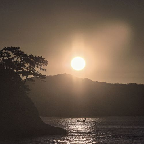 Sunrise Sea Beach Inamuragasaki