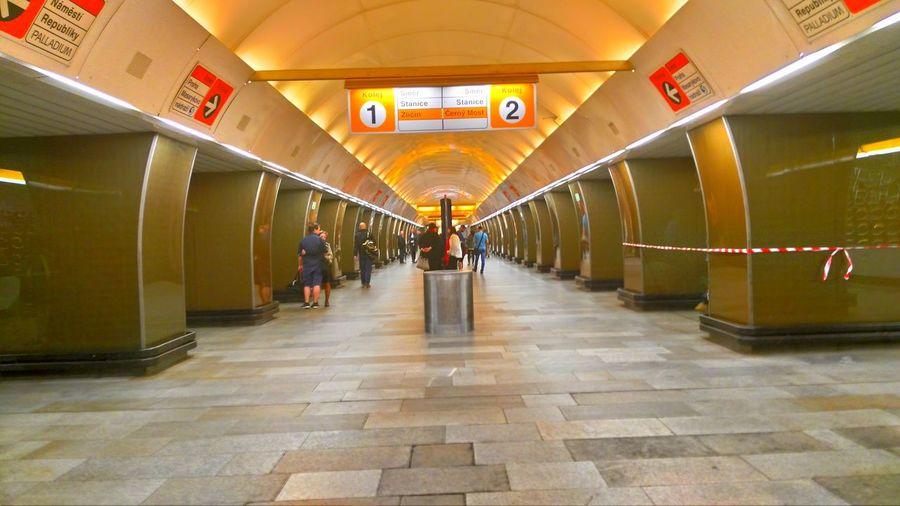 Taking Photos Hello World Metro Station Prague♡ Chech Republic Hello World Tube Station  Tubetrain Tube Metro Photo Metro Life