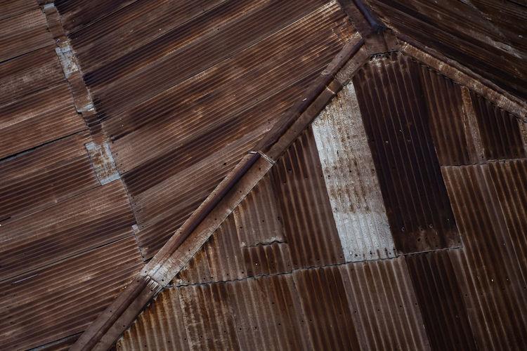 Full frame shot of a roof