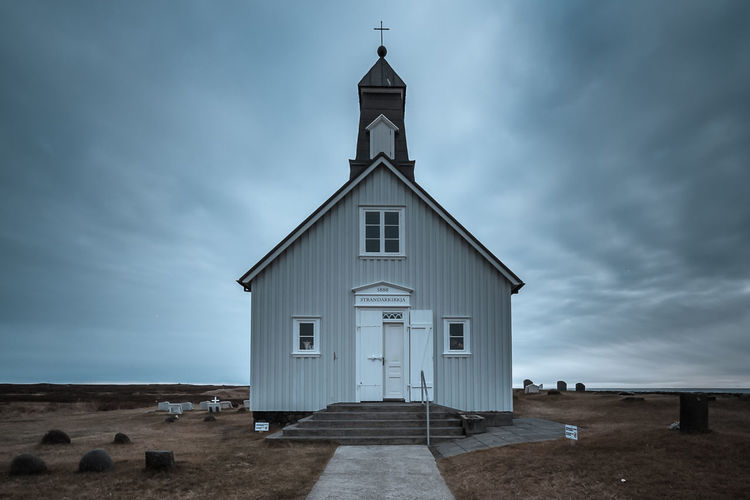 Architecture Built Structure Church Cloud Cloud - Sky Cloudy Fire Horizon Ice Iceland Landscape Nature Outdoors Roadtrip Sky The Great Outdoors - 2016 EyeEm Awards Market Reviewers' Top Picks