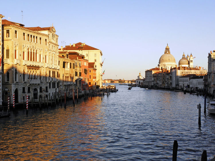Ancient Architecture Artworks Banks Canal Grande City Craftmanship Day Eu Europe Famous Places Gondola History Italia Outdoors Outdoors Sea Sunset Tourism Tradition Travel Destinations Vacations Venezia Venice, Italy Water