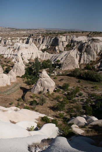 Cappadoccia views Arid Climate Beauty In Nature Climate Day Environment Eroded Formation Geology Land Landscape Mountain Nature No People Non-urban Scene Outdoors Physical Geography Rock Rock - Object Rock Formation Scenics - Nature Sky Solid Tranquil Scene Tranquility Travel Destinations