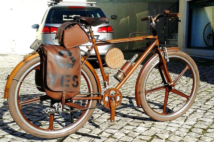 My New Bicycle Cityrider Rust Bicycle