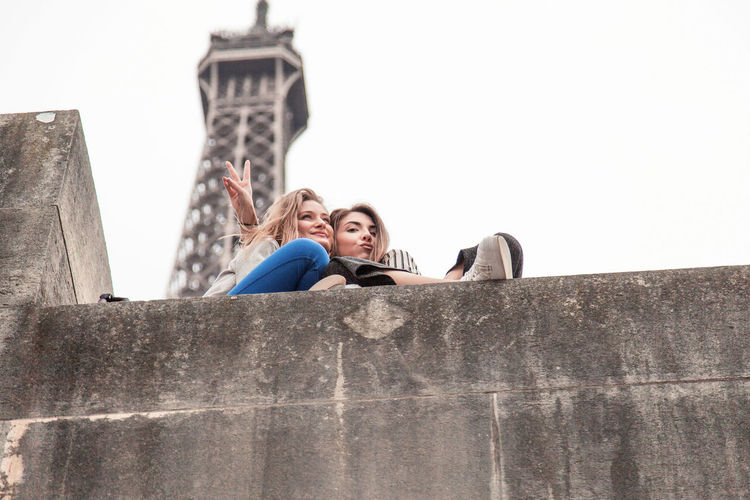 Women Around The World Two People Couple - Relationship Heterosexual Couple Togetherness Young Adult Looking Young Women Men Women People Adults Only Adult Outdoors Leisure Activity Bonding Travel Destinations Eiffel Tower Eiffel Friendship ❤ Friends Lookup Tour Eiffel Beautiful Woman Friendship EyeEmNewHere The Portraitist - 2017 EyeEm Awards Live For The Story Be. Ready.