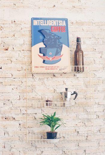 Film Photography Architecture Filmisnotdead Film Analog 35mm Film Iusefilm Fujifilm Vintage Cafe Decoration Interior Design Interior Coffee Coffee Shop Mokapot Brick Wall Design Coffee Time Cafeteria Bright Clean Bangkok Thailand. Shop