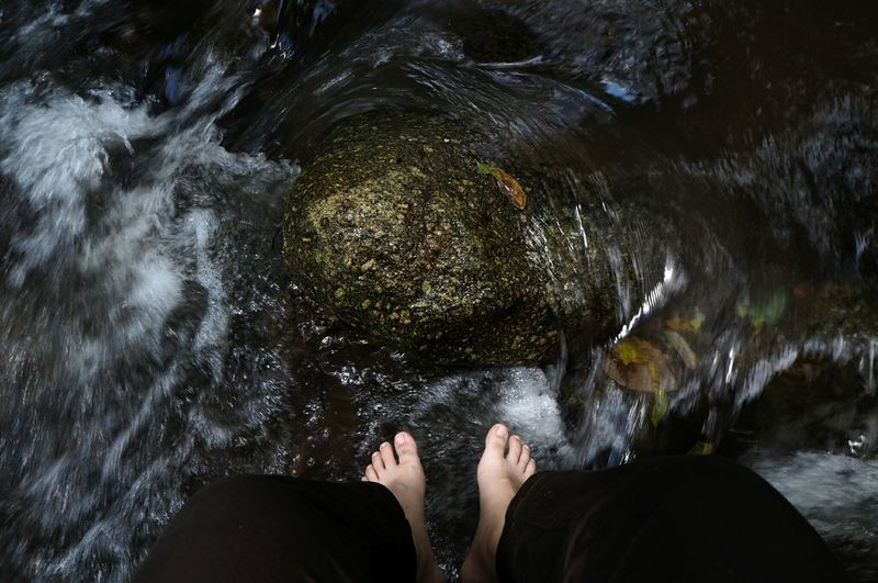chill EyeEm Selects Low Section Water Human Leg Underwater Directly Above Rippled Personal Perspective barefoot Human Foot Shallow Stream - Flowing Water Footwear Waterfall Stream Falling Water Long Exposure Ankle Deep In Water Clear
