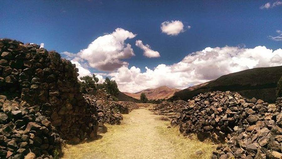 Sacred road TempleoftheSun IncaWorld Peru Traveling Travelingperu Instatravel Instalike Ancientworld