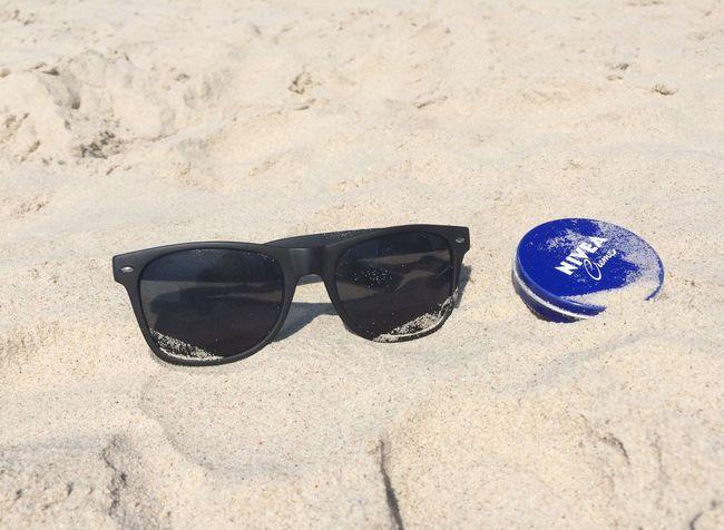In the beach... Nivea Land Sand Beach Glasses Sunglasses Sunlight Nature Still Life