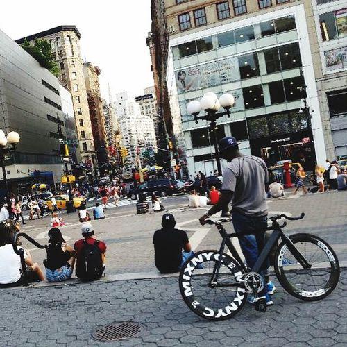 Cycling!! Unionsquare
