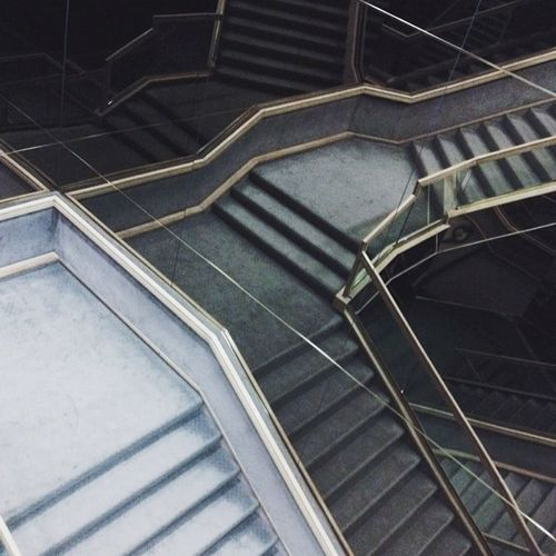 Confusing Staircase Mirrors
