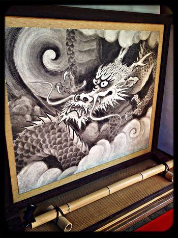 雲龍院 玄関の龍の衝立 Taking Photos The Purist (no Edit, No Filter) Temple Dragon