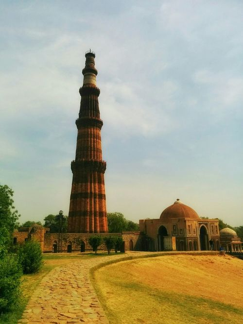 Showcase April Things I Like Check This Out All In One  Photos Around You Believe Sun ☀ Hanging Out Beauty Light Up Your Life That's Me Relaxing Outdoor Pictures Monuments Monument Valley QutubMinar Qutub Minar, New Delhi