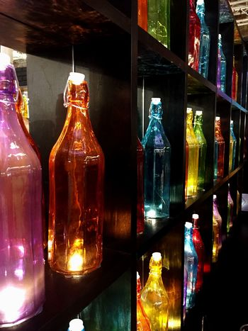 Colors Glass Bottle Fashion Pittiuomo