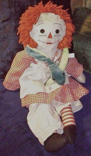 Lieblingsteil Doll Raggedy Ann Childhood Indoors  Stuffed Animal