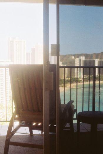 35mm Film Film EyeEm Best Shots Traveling Hawaii Waikiki Beach Hotel Room Sunny Day Light And Shadow