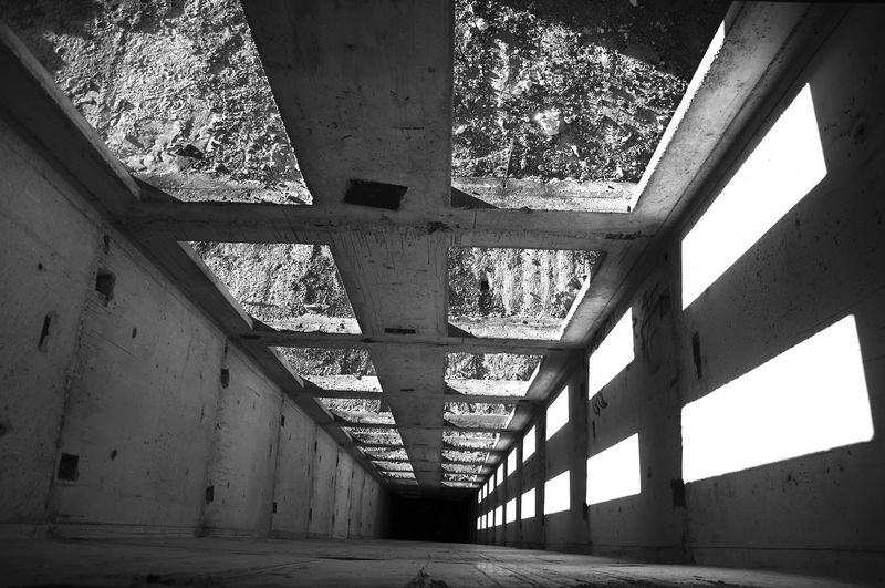 .. gravity never let me down gently Black & White Saft  Abandoned Architecture Built Structure Indoors  Lift Shaft No People EyeEmNewHere