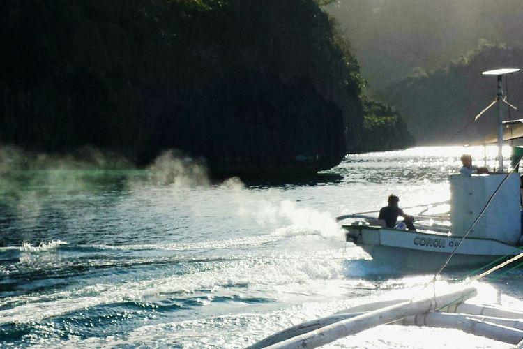 Eyeem Philippines EyeEm Best Shots Landscape_photography Enjoying Life I'm On A Boat Boat Sea Boat Ride Travel Photography