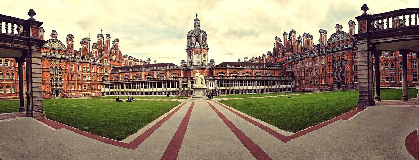 London Egham Royal Holloway University University Campus Enjoying Life Travelling Travel Photography Travelgram Eyem Best Shots