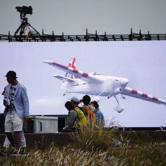 Airrace Airplane Streamzoofamily Makuhari 😂👍My best shot. Today. 🙇🏻😂✋🏻💦 Monitor