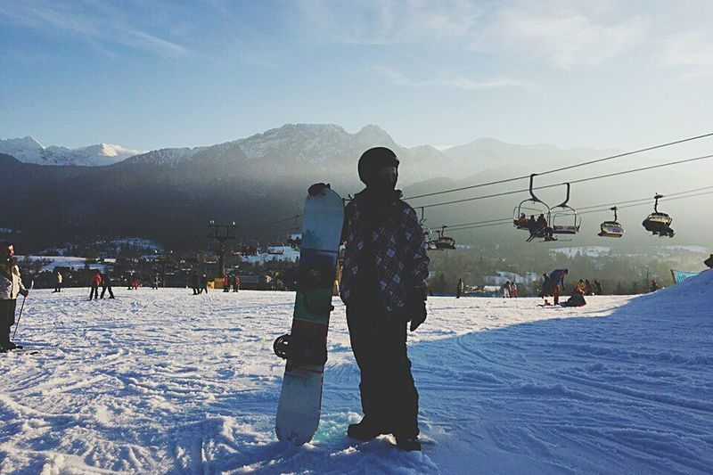 Snow Winter Cold Temperature Mountain Two People Togetherness Vacations First Eyeem Photo