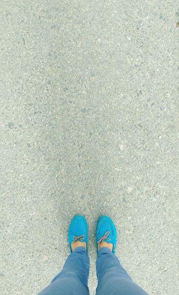 Walking Floortraits ı Love Blue ♡...