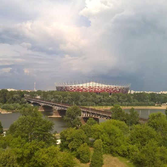 Warsaw Stadion Foolball Mazowieckie Powisle City ZakochajsiewWarszawie