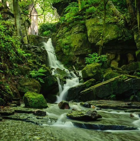 Lumsdale waterfalls today. What do you think of my take ? Waterfall Water Motion Blurred Motion Long Exposure Rock - Object No People Nature Day Beauty In Nature Outdoors Growth Scenics Animal Themes Tree Landscape_Collection Landscape Photography Eyeem Photography