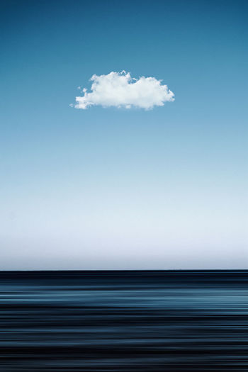 Atmosphere Beauty In Nature Blue Cloud - Sky Cloudscape Copy Space Day Environment Idyllic Lonely Cloud Minimal Minimal Nature Minimalism Nature No People Outdoors Pattern Scenics - Nature Sea Sky Texture Tranquil Scene Tranquility