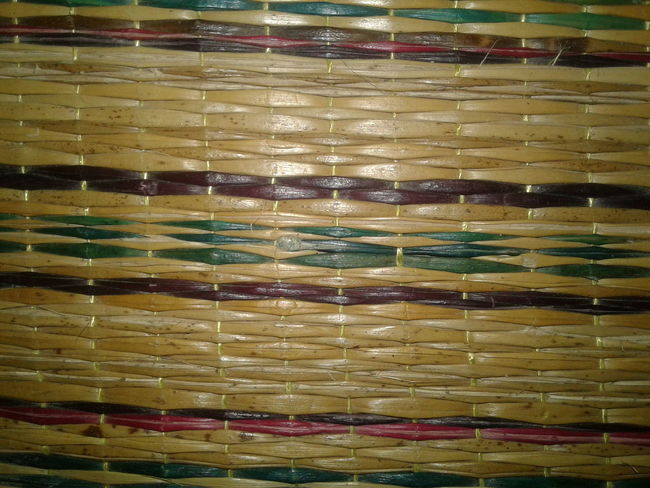 Natural mats, thai people, background Backgrounds Full Frame Yellow No People Multi Colored Indoors  Close-up