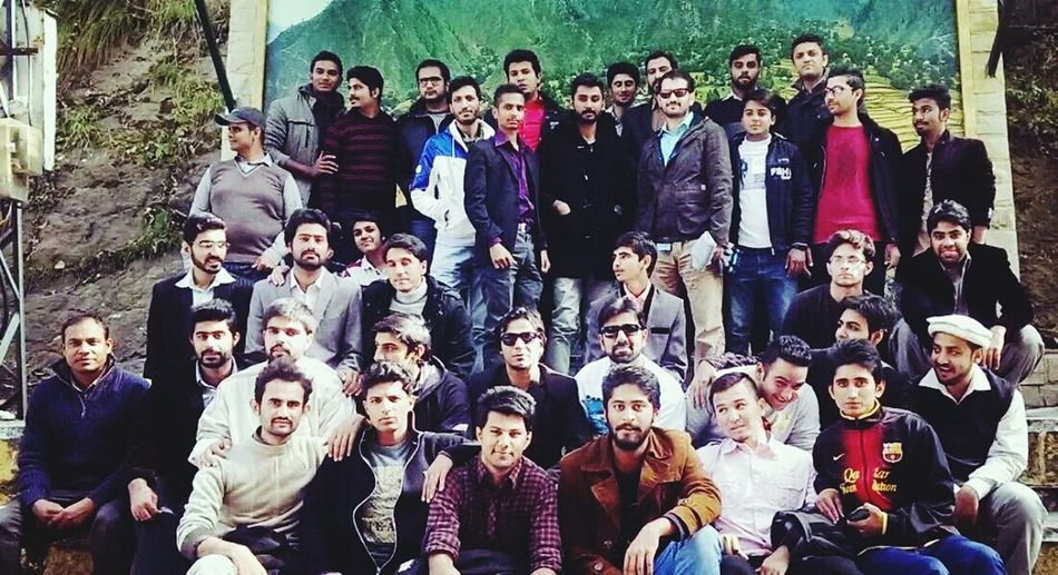 In Murree with students from Comsatsatk campus. First Eyeem Photo