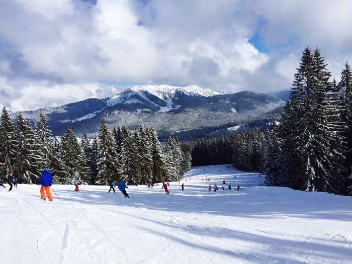 Snow Cold Skiing Austria Fun Mountain Adventure Ski Holiday Nature ⛷😊