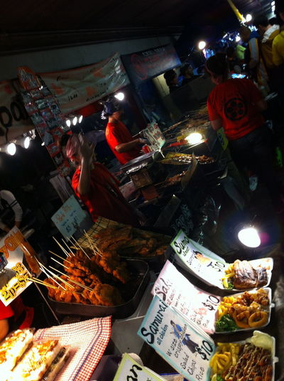 Asian Food Buying Food Stall Illuminated Japanese Food Large Group Of Objects Low Light Multi Colored Night Night Market Night Market, People And Places Streetphotography Street Photography