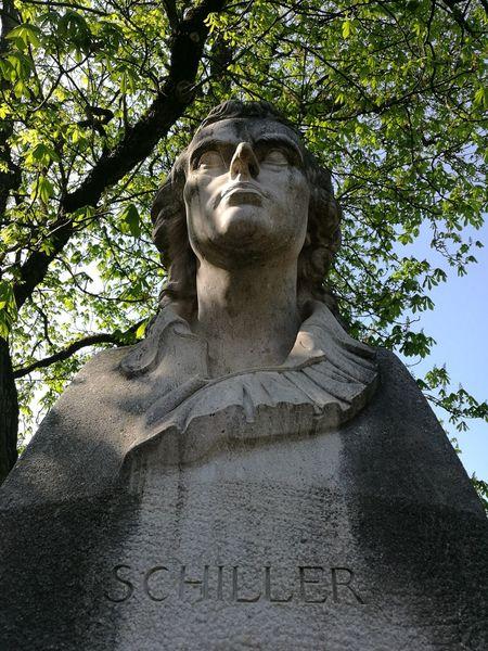 ✒ Schiller Huwaei Photography Schiller Friedrich Schiller Tree Sculpture Statue City History Monument Art And Craft Craft