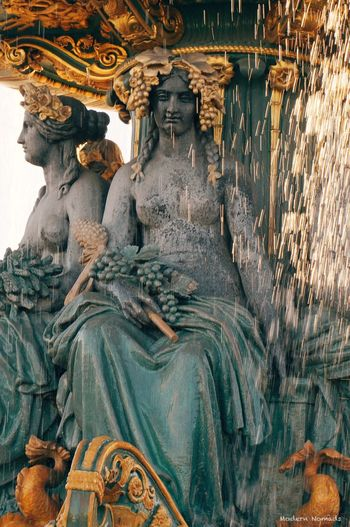Les Fontaines De La Concorde Paris France Summer Canicule VSCO
