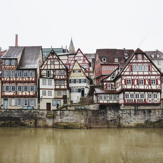Half timbered... Halftimberedhouse Water Building Exterior Built Structure Day Architecture Outdoors Business Finance And Industry No People Travel Destinations Waterfront Cityscape Clear Sky City